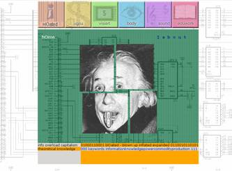 Figure 1: 'home' page - 'Einstein - sold!